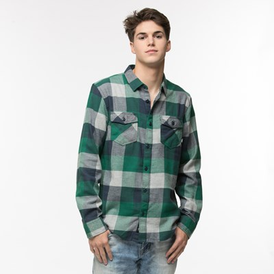 Main view of Mens Vans Box Flannel Shirt