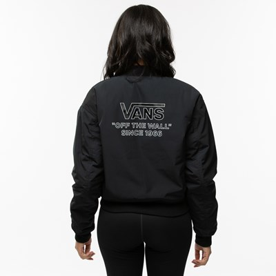 Alternate view of Womens Vans Boom Boom Reversible Bomber Jacket