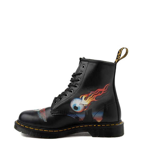 Alternate view of Dr. Martens 1460 Rick Griffin Eye Boot
