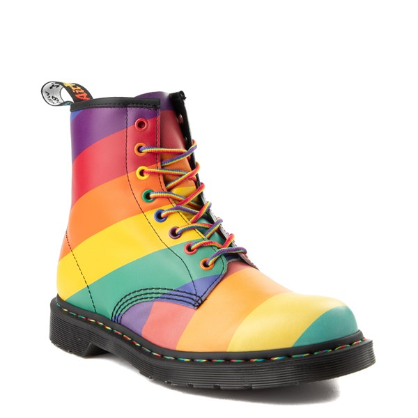 Alternate view of Dr. Martens 1460 8-Eye Pride Boot