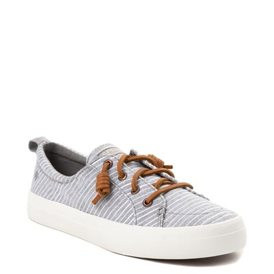 Alternate view of Womens Sperry Top-Sider Crest Vibe Casual Shoe - Gray / White