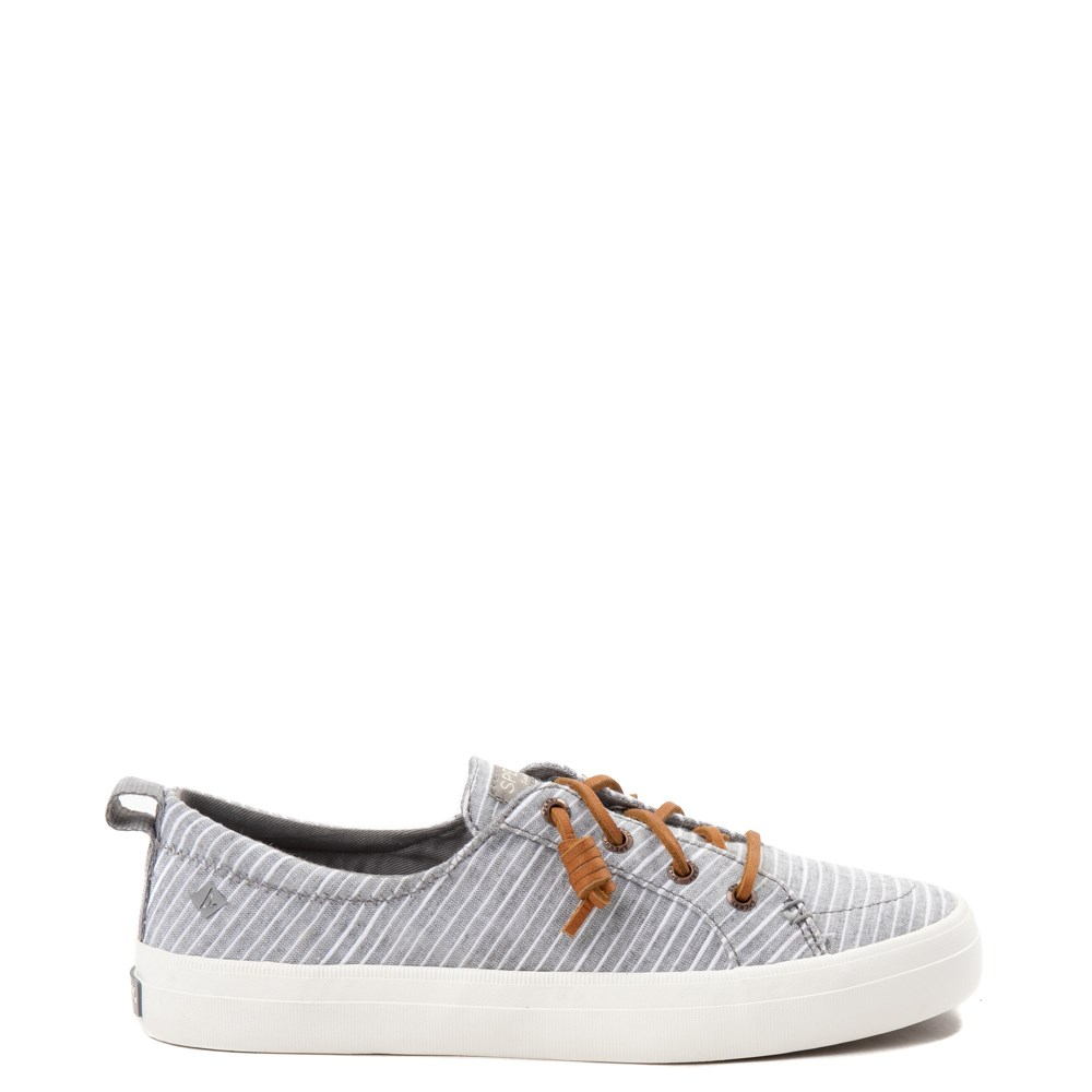 Womens Sperry Top-Sider Crest Vibe Casual Shoe - Gray / White