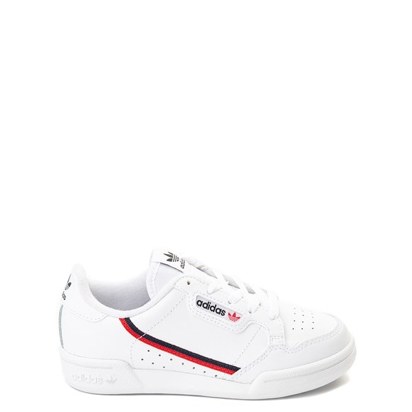 adidas Continental 80 Athletic Shoe - Little Kid - White / Navy / Red