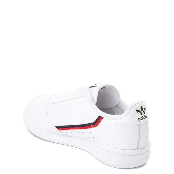 alternate view adidas Continental 80 Athletic Shoe - Little Kid - White / Navy / RedALT2