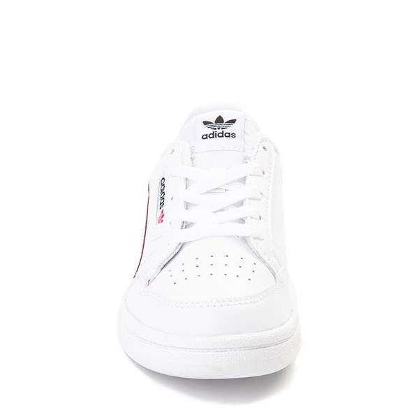 alternate view adidas Continental 80 Athletic Shoe - Little Kid - White / Navy / RedALT4