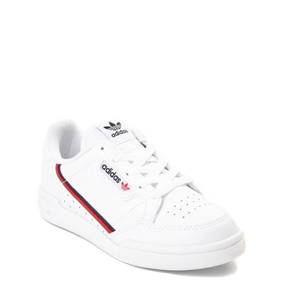 Alternate view of adidas Continental 80 Athletic Shoe - Little Kid - White / Navy / Red