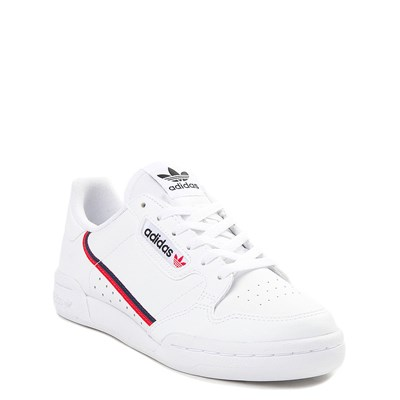 Alternate view of adidas Continental 80 Athletic Shoe - Big Kid - White / Navy / Red