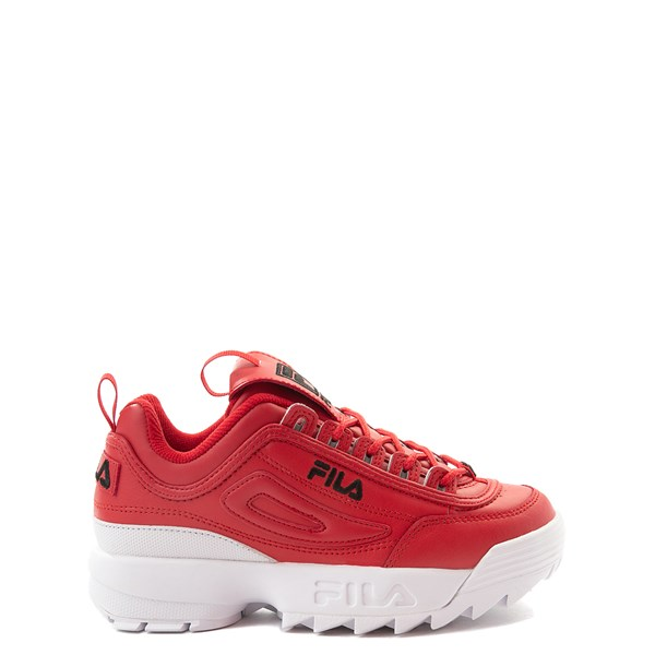 Fila Disruptor 2 Athletic Shoe - Big Kid - Red / White