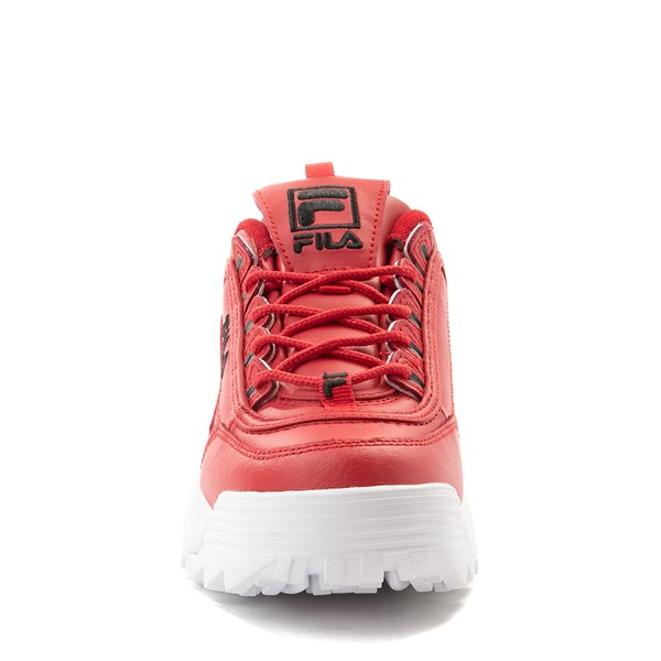 alternate view Fila Disruptor 2 Athletic Shoe - Big Kid - Red / WhiteALT4