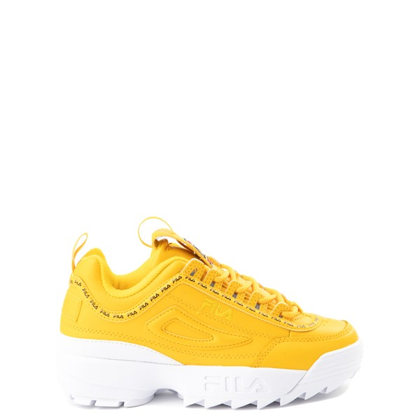 Main view of Fila Disruptor 2 Athletic Shoe - Big Kid - Yellow