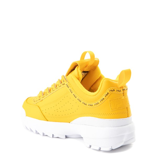 alternate view Fila Disruptor 2 Athletic Shoe - Big Kid - YellowALT1