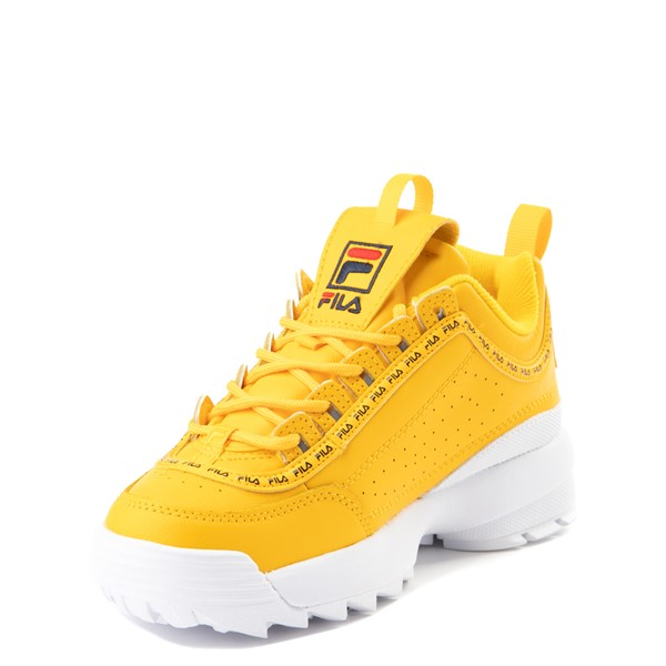 alternate view Fila Disruptor 2 Athletic Shoe - Big Kid - YellowALT2