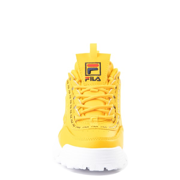 alternate view Fila Disruptor 2 Athletic Shoe - Big Kid - YellowALT4