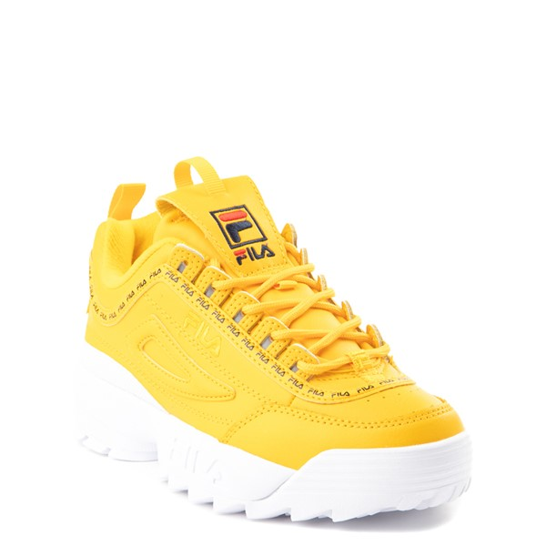 alternate view Fila Disruptor 2 Athletic Shoe - Big Kid - YellowALT5