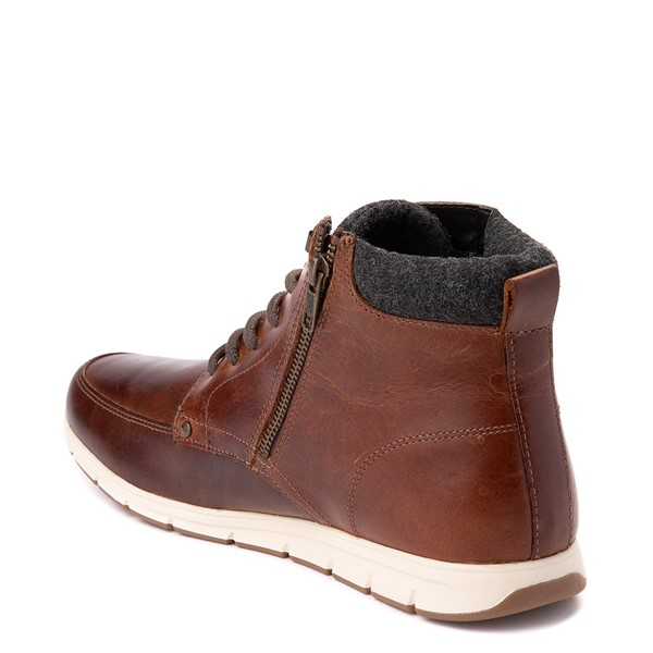 alternate view Mens Crevo Stanmoore Casual Shoe - ChestnutALT1