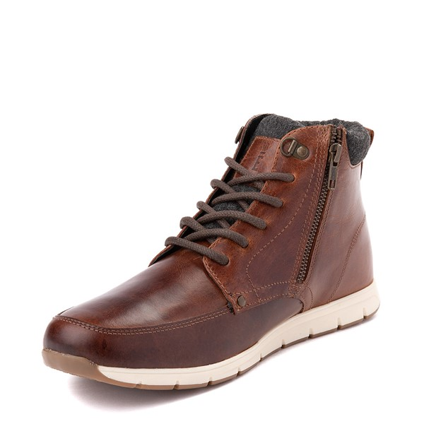 alternate view Mens Crevo Stanmoore Casual Shoe - ChestnutALT2