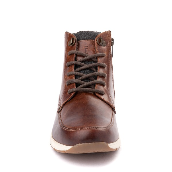 alternate view Mens Crevo Stanmoore Casual Shoe - ChestnutALT4