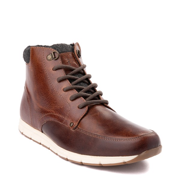 alternate view Mens Crevo Stanmoore Casual Shoe - ChestnutALT5