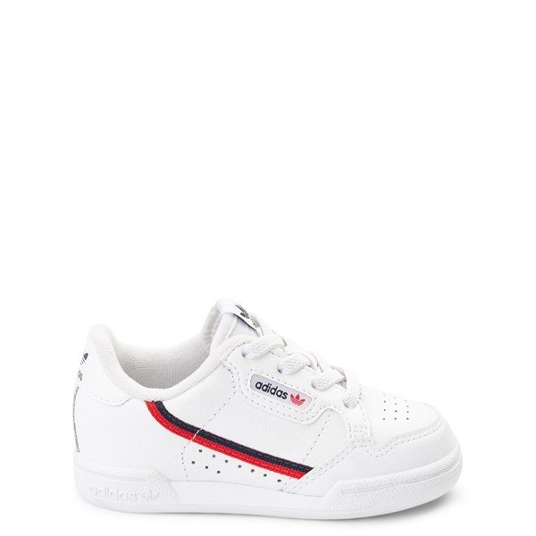 adidas Continental 80 Athletic Shoe - Baby / Toddler - White / Navy / Red