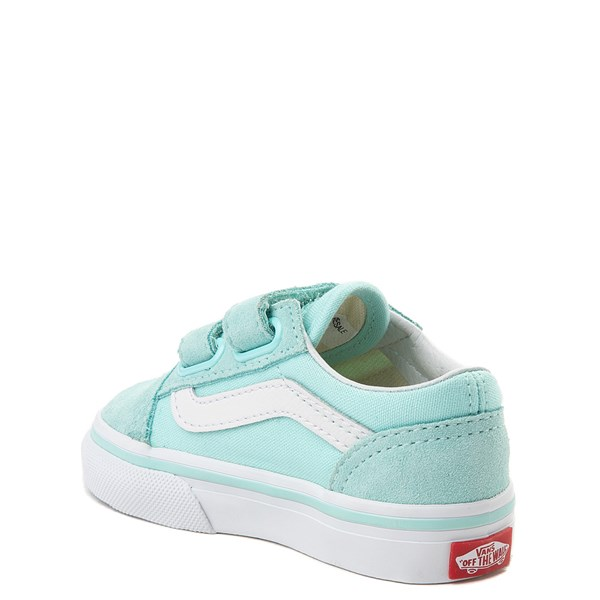 alternate view Vans Old Skool V Skate Shoe - Baby / Toddler - AquaALT2