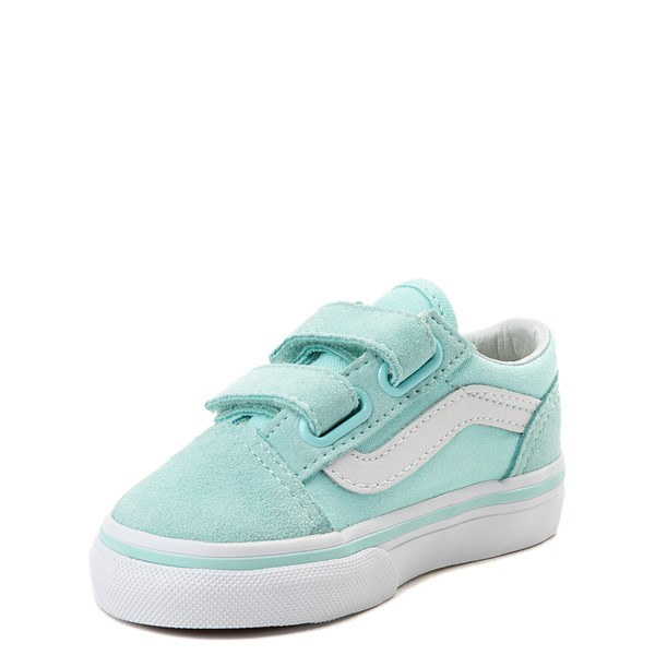 alternate view Vans Old Skool V Skate Shoe - Baby / Toddler - AquaALT3
