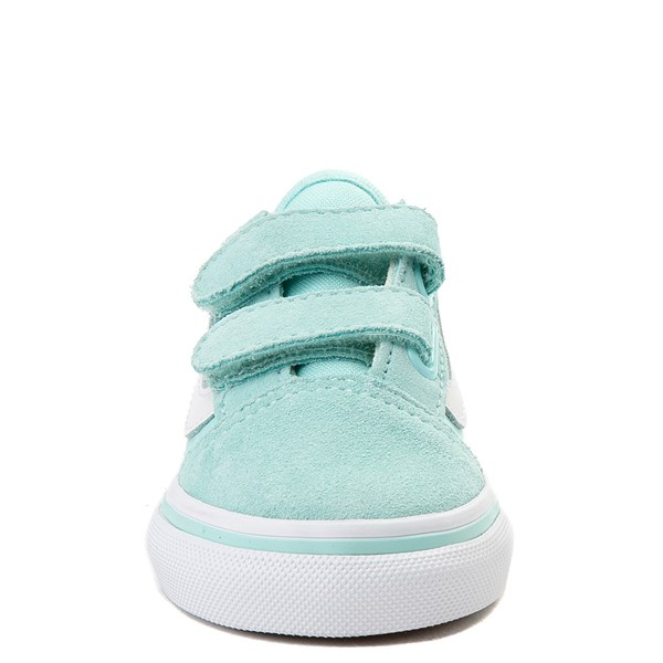 alternate view Vans Old Skool V Skate Shoe - Baby / Toddler - AquaALT4