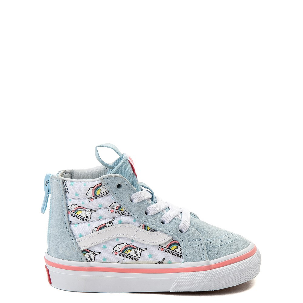 c724a859ac31 Vans Sk8 Hi Zip Unicorn Skate Shoe - Baby   Toddler