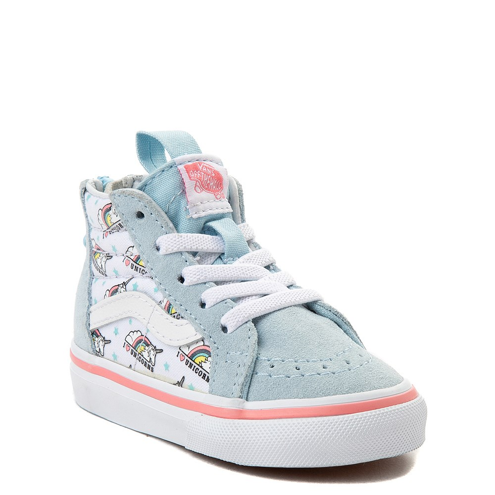 38c4e2d60d6 Vans Sk8 Hi Zip Unicorn Skate Shoe - Baby   Toddler