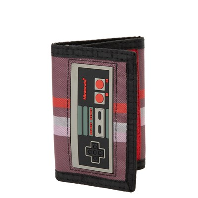 Main view of Nintendo Controller Tri-Fold Wallet