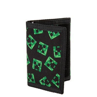 Main view of Minecraft Creeper Tri-Fold Wallet