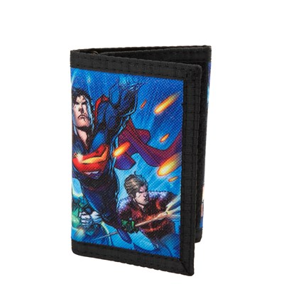 Main view of Justice League Tri-Fold Wallet
