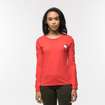 Main view of Womens Converse Hello Kitty® Long Sleeve Tee