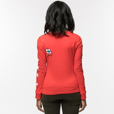 Alternate view of Womens Converse Hello Kitty® Long Sleeve Tee