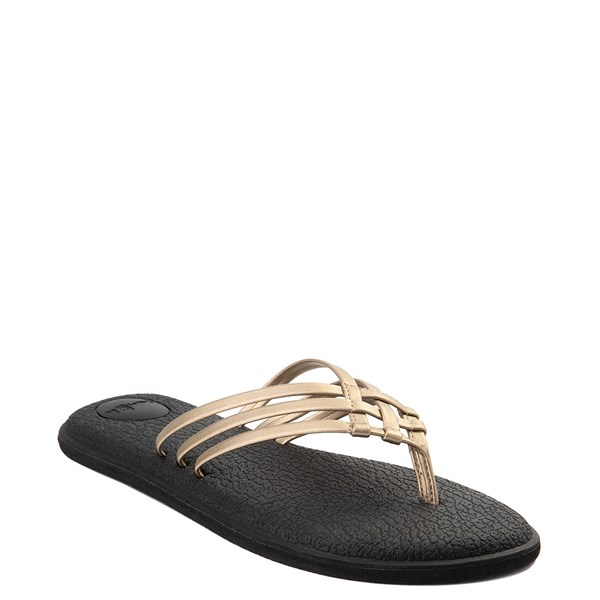 Alternate view of Womens Sanuk Yoga Salty Metallic Sandal