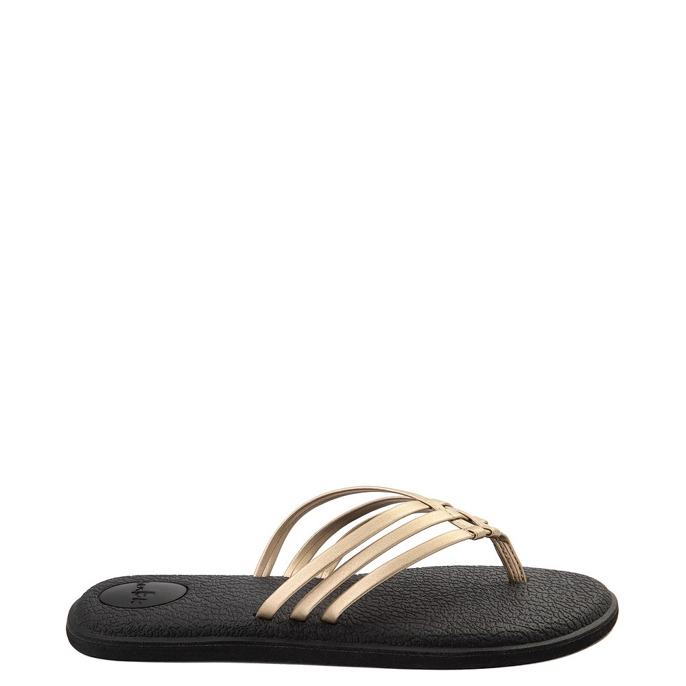 Womens Sanuk Yoga Salty Metallic Sandal