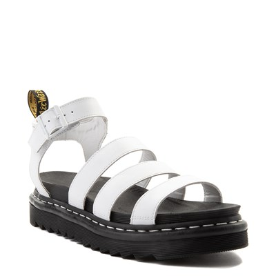 Alternate view of Womens Dr. Martens Blaire Sandal - White