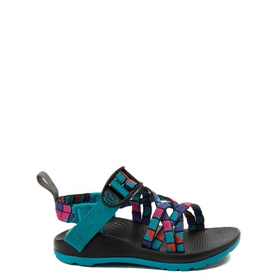 Main view of Chaco ZX/1 Sandal - Toddler / Little Kid / Big Kid - Rose / Teal