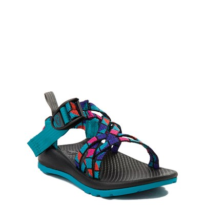 Alternate view of Chaco ZX/1 Sandal - Toddler / Little Kid / Big Kid - Rose / Teal