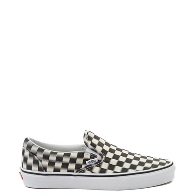 Vans Slip On Blur Chex Skate Shoe