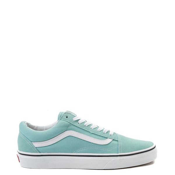 Default view of Vans Old Skool Skate Shoe - Aqua Haze