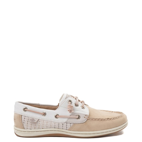 Womens Sperry Top-Sider Songfish Boat Shoe - Ivory / Rose