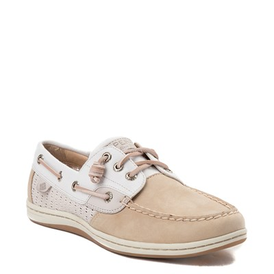 Alternate view of Womens Sperry Top-Sider Songfish Boat Shoe - Ivory / Rose