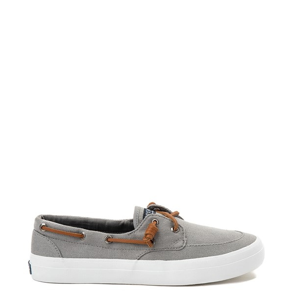 Womens Sperry Top-Sider Crest Boat Shoe - Gray