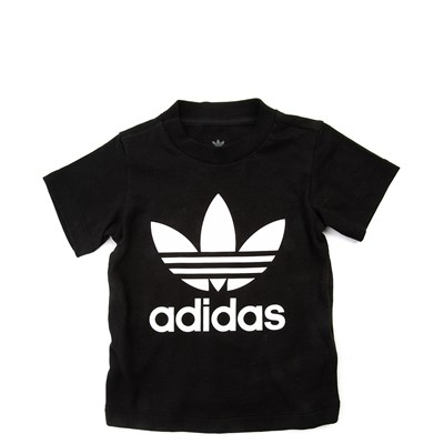 Main view of adidas Trefoil Tee - Baby - Black