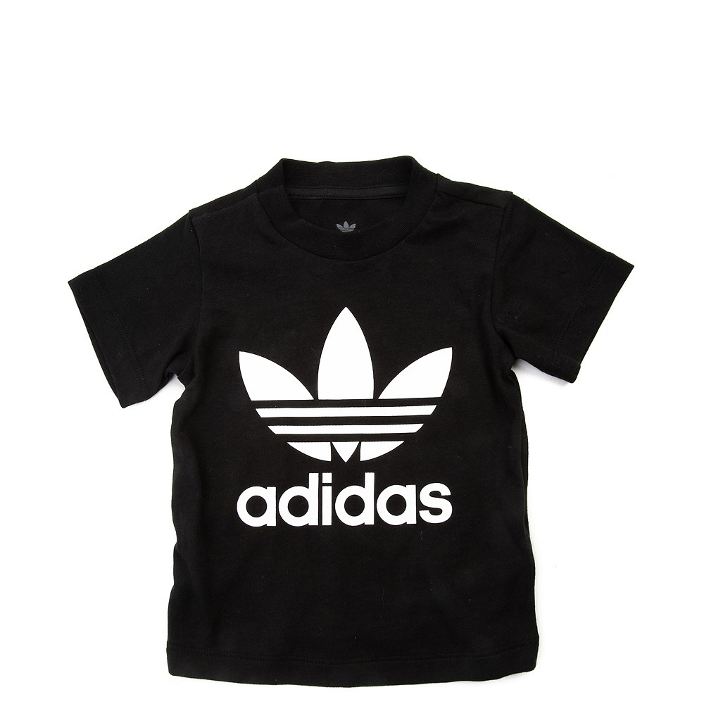 adidas Trefoil Tee - Toddler - Black