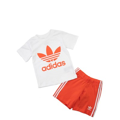 Main view of adidas Short Set - Toddler