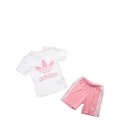 Main view of adidas Short Set - Girls Toddler