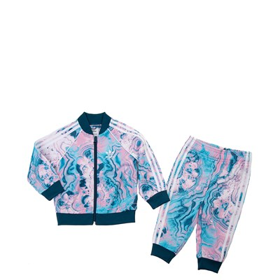 Main view of adidas Superstar Track Suit - Girls Toddler