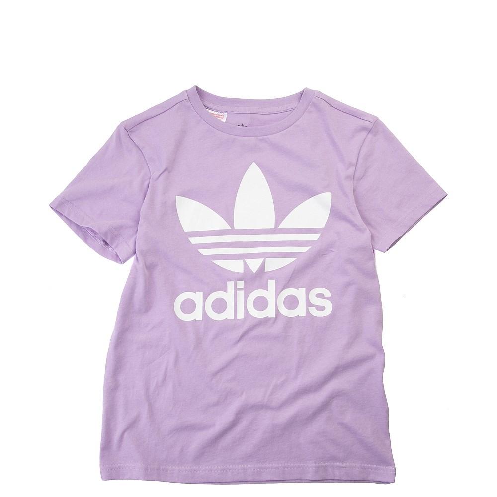 adidas Trefoil Logo Tee - Girls Little Kid