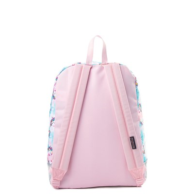 Alternate view of JanSport Super FX Unicorn Clouds Backpack - Multi